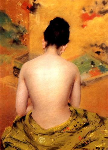 back-of-a-nude-william-merritt-chase-1888