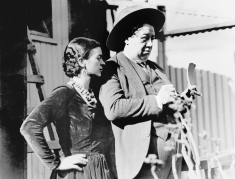 Frida Kahlo and her husband, Diego Rivera