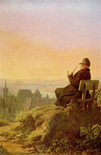 resting-on-the-vine-carl-spitzweg-1845